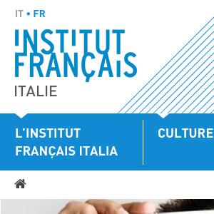 Voir la fiche Institut Français d'Italie