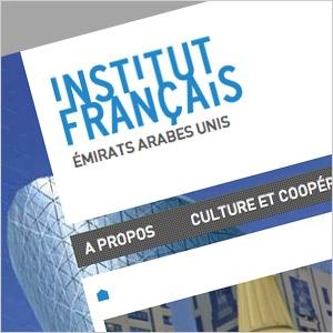 Voir la fiche Institut Français - Thème Wordpress